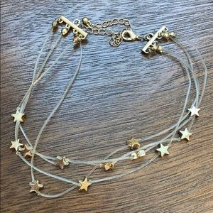Gold Adjustable Star Choker